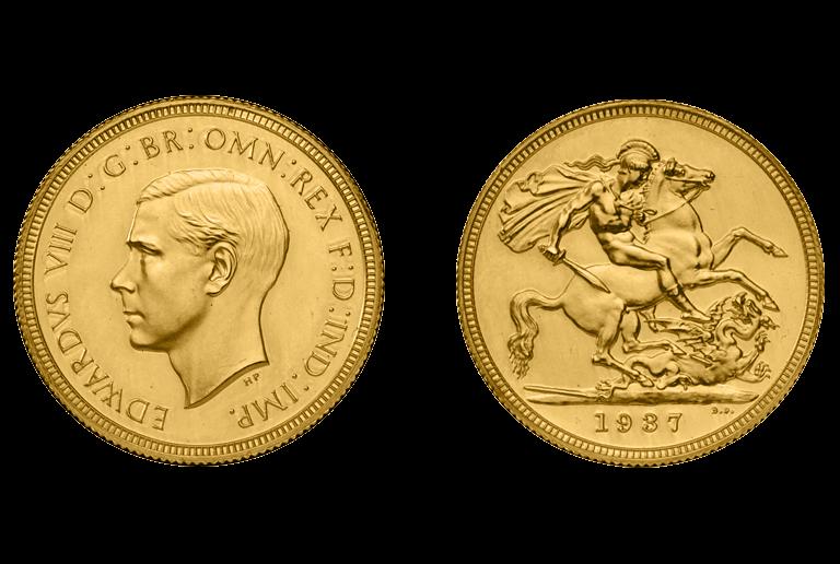 Χρυσή λίρα Εδουάρδου
